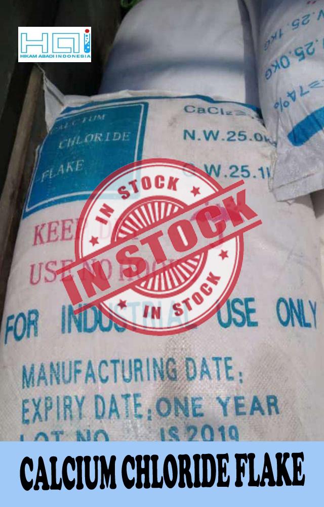 Jual Calcium Chloride Flake