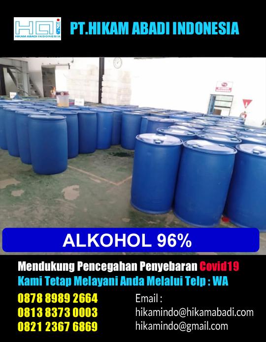 Jual Alkohol 96 Area Bekasi